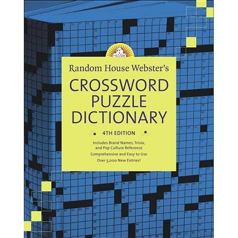 Random House Webster's Crossword Puzzle Dictionary, 4th Edition - 4 Edition by  Stephen Elliott - image 1 of 1