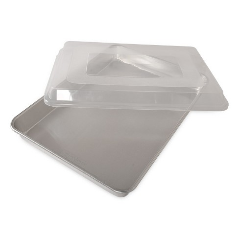 Nordic Ware Natural Aluminum Commercial High-Sided Sheet Cake Pan with Lid - image 1 of 4