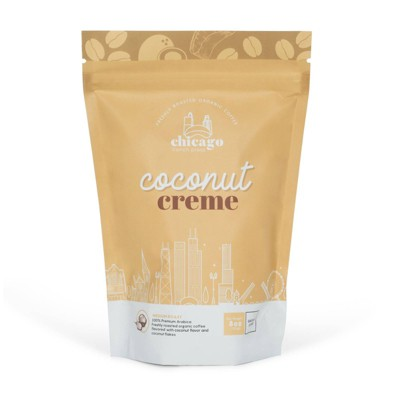 Chicago French Press Coconut Crème Medium Roast Coffee - 8oz