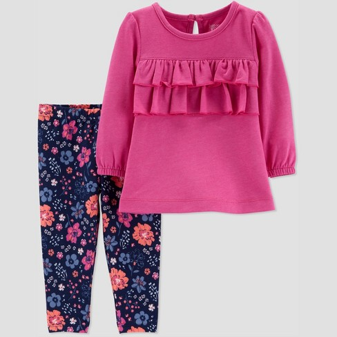 1d86c7ca3b58 Toddler Girls' 2pc Floral Set - Just One You® made by carter's Purple