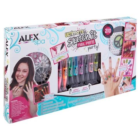 5019de06e Alex Spa Ultimate Sketch It Nail Pens Party : Target