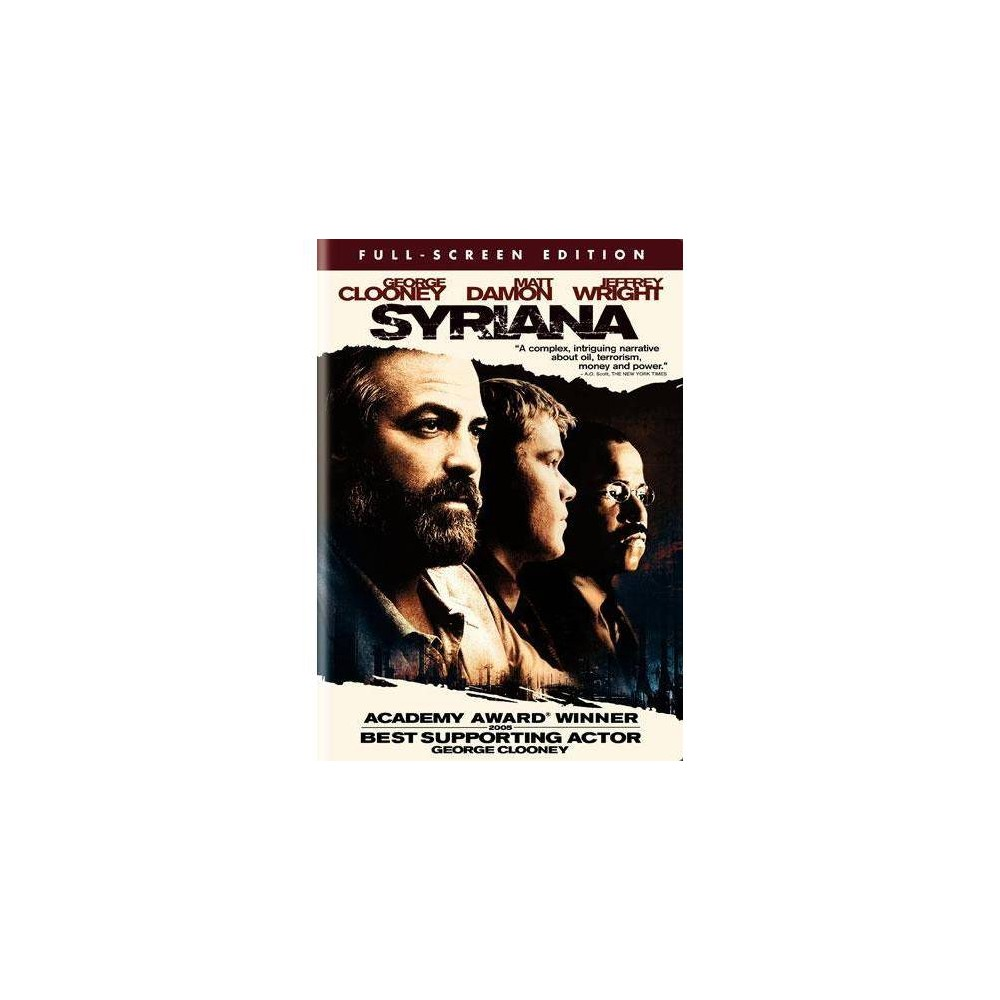 Syriana (DVD), movies was $9.99 now $6.99 (30.0% off)