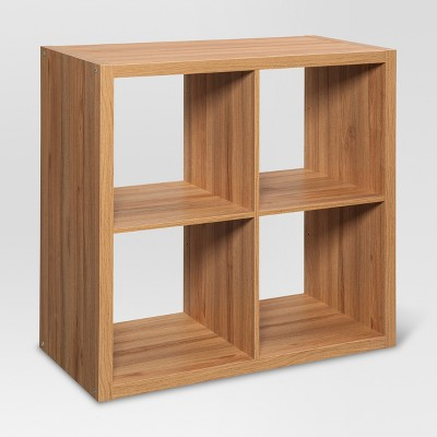 4-Cube Organizer Shelf 13  - Natural - Threshold™