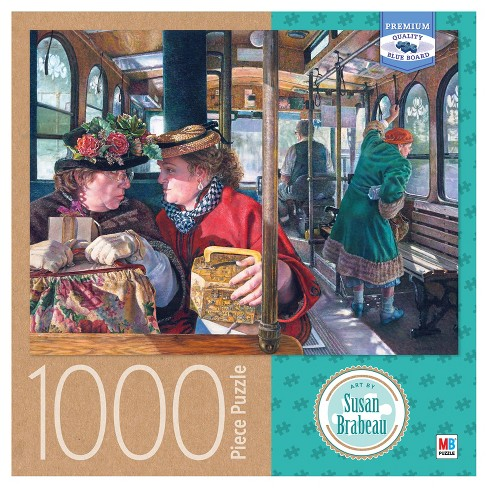 Susan Brabeau The Conversation 1000pc Puzzle - image 1 of 2