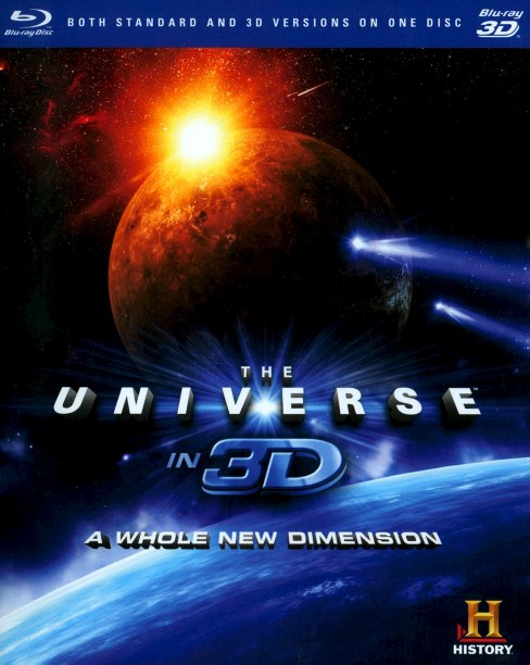 Universe in 3d:Whole new dimension (Blu-ray) - image 1 of 1
