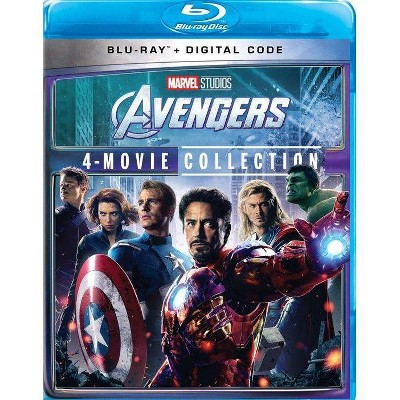 Avengers: 4-Movie Collection (Blu-ray + Digital)