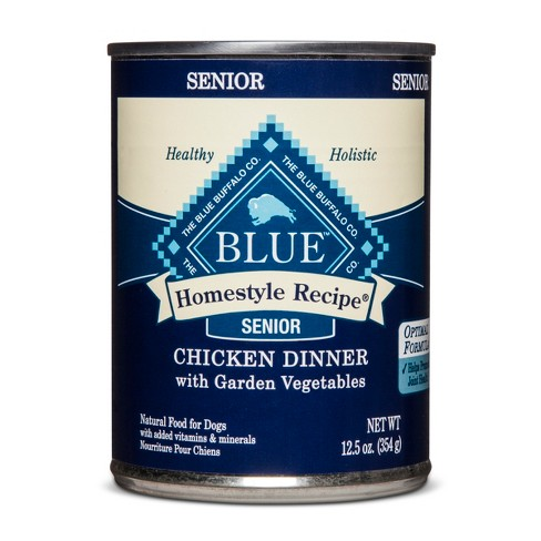 Blue Buffalo Senior Homestyle Recipe Chicken Dinner Wet Dog Food - 12.5oz - image 1 of 2