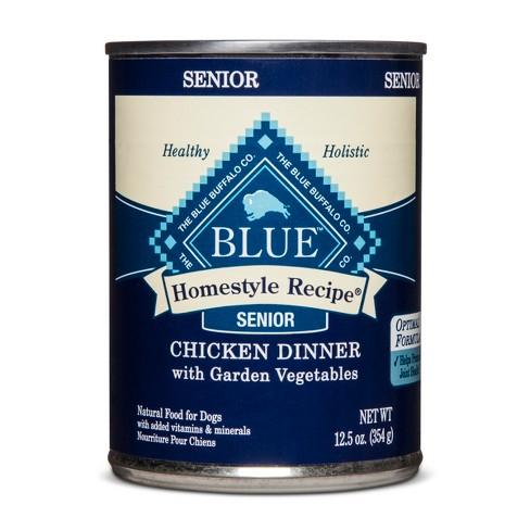 Blue Buffalo Senior Homestyle Recipe Chicken Dinner Wet ...