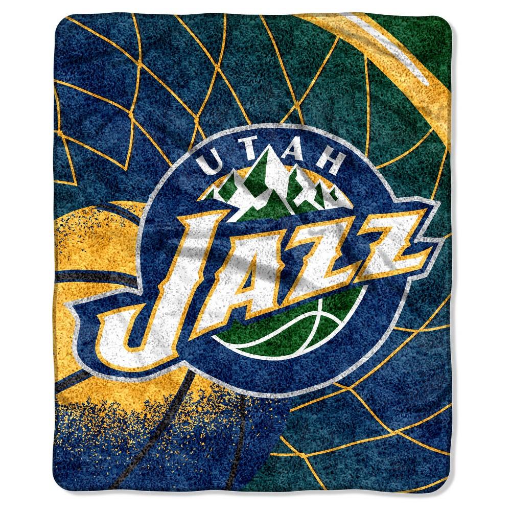 NBA Utah Jazz Sherpa Throw Blanket - 50