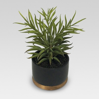 Artificial Plant in Black Pot Medium - Threshold™