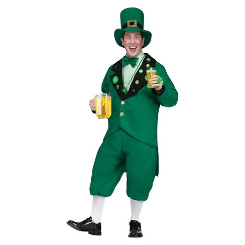 Men's St. Patrick's Day Pub Crawl Leprechaun Adult Costume - image 1 of 1
