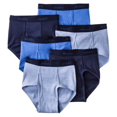 Hanes Premium Men's 6pk Classic Briefs - Colors May Vary