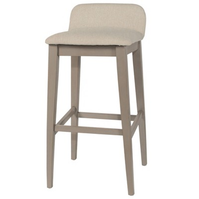 "30.25"" Maydena Non Swivel Barstool Beige - Hillsdale Furniture"
