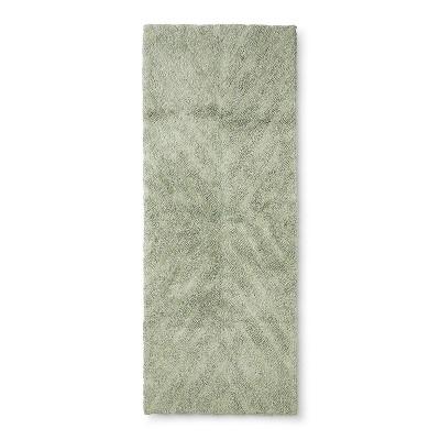 58 x23  Tufted Bath Rug Green - Project 62™ + Nate Berkus™