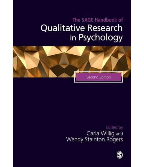 Sage Handbook of Qualitative Research in Psychology -  (Hardcover) - image 1 of 1