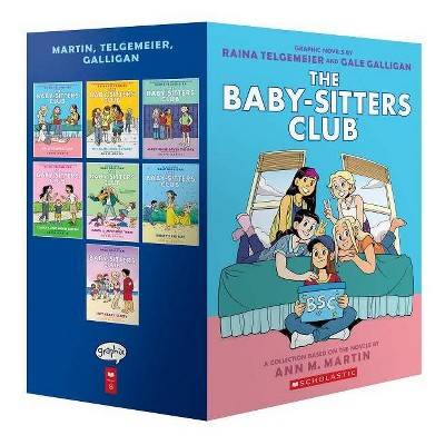 The Baby-Sitters Club Graphic Novels #1-7: A Graphix Collection - (Baby-Sitters Club Graphix)by Ann M Martin (Mixed Media Product)