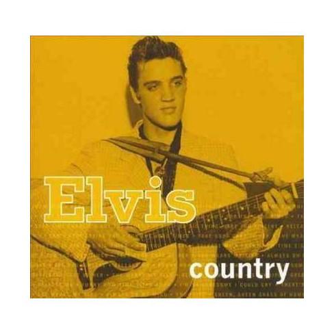 Elvis Presley - Elvis Country (2006 Compilation) (CD) - image 1 of 1