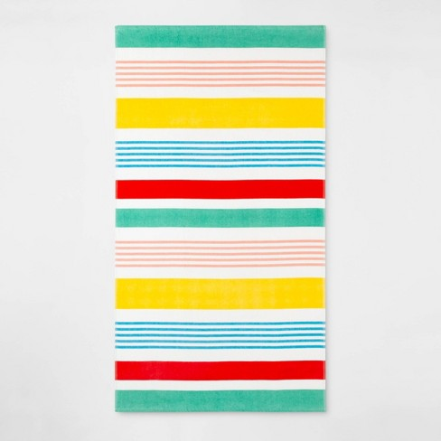 Variegated Stripe Beach Towel - Sun Squad™ - image 1 of 2