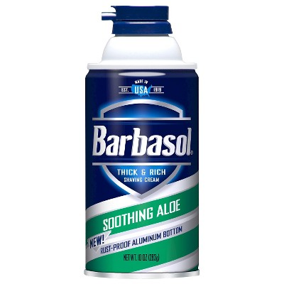 Barbasol Thick & Rich Soothie Aloe