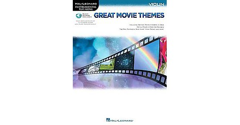 Great Movie Themes Violin (Paperback) - image 1 of 1