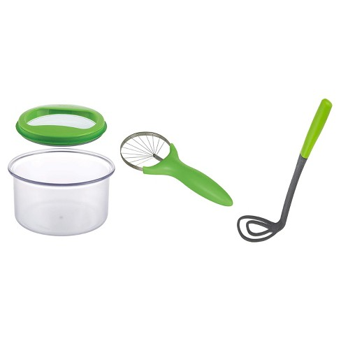 Progressive International PrepWorks Guacamole Kit Container, Slicer and Masher - image 1 of 4