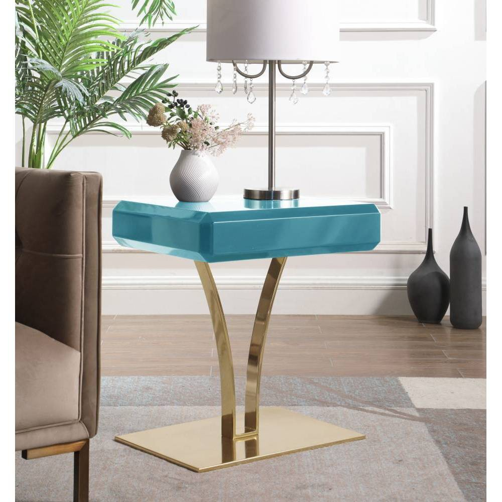 Courtney Side Table Green - Chic Home Design was $319.99 now $191.99 (40.0% off)