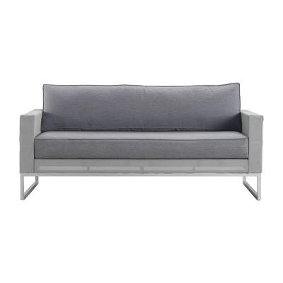 Tropez Outdoor Mesh Sofa - French Gray - Adore Decor