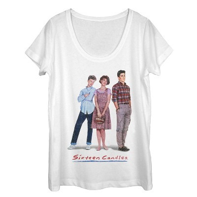 Women's Sixteen Candles Classic Movie Poster Scoop Neck