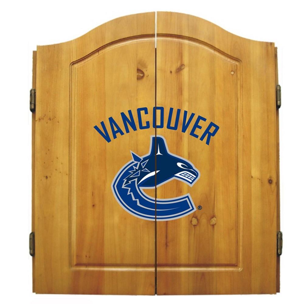 NHL Vancouver Canucks Dart Cabinet