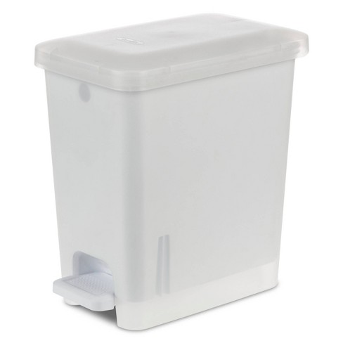 2 7gal Step Trash Can Clear Room Essentials Target