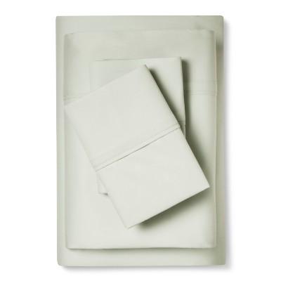 Tencel Cotton Sheet Set (Queen)Gray Mint - Fieldcrest™