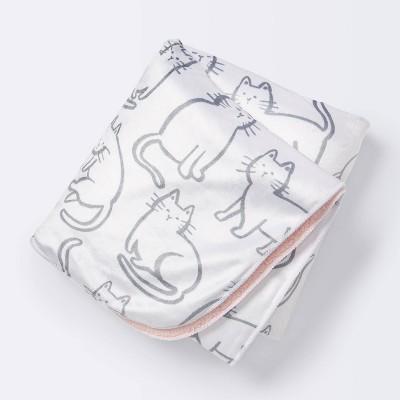 Velboa Blanket Cats - Cloud Island™ - Pink