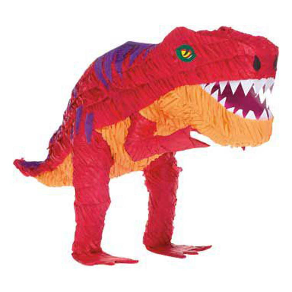 Image of T-Rex Pinata Party Accessories, Red