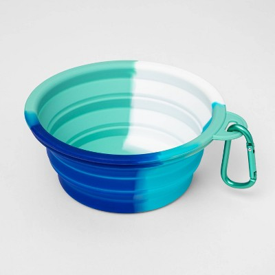 Collapsible Dog Bowl - Cool Tie-Dye - Sun Squad™