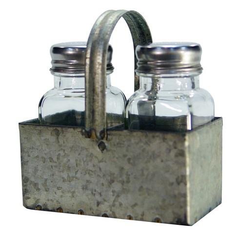 Metal Salt & Pepper Holder - VIP Home & Garden - image 1 of 1