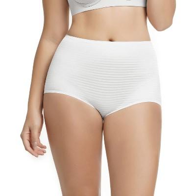 Leonisa Leonisa 3-pack high waist boy short panties for women - Boxer brief underwear -