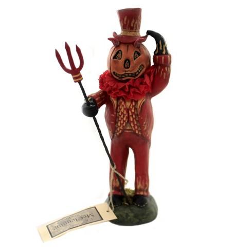 "Charles Mcclenning 10.25"" Dapper Devil Halloween Pumpkin - image 1 of 3"