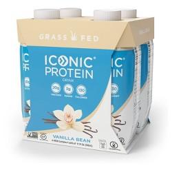 ICONIC Protein Drink - Vanilla Bean - 11 fl oz/4pk