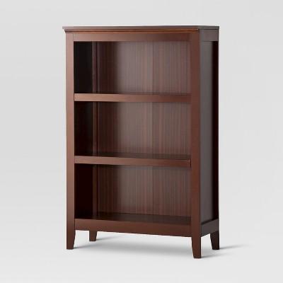 48 carson 3 shelf bookcase threshold target rh target com