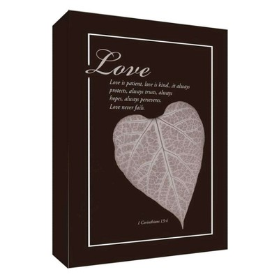 Love Is Patient I Decorative Canvas Wall Art 11 x14  - PTM Images