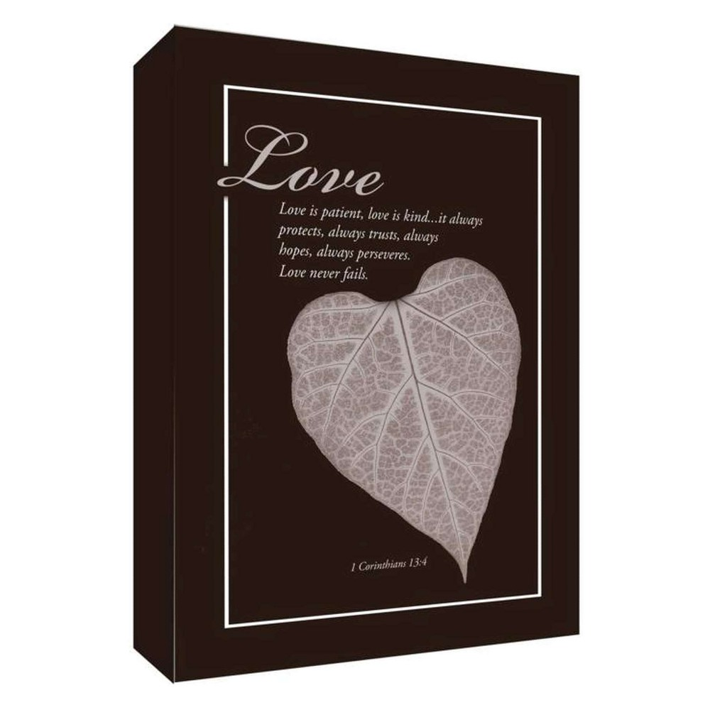 Love Is Patient I Decorative Canvas Wall Art 11
