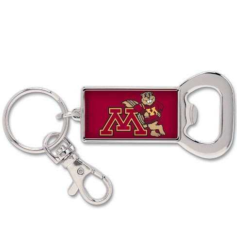 NCAA Minnesota Golden Gophers Lanyard Bottle Opener Keychain - image 1 of 1