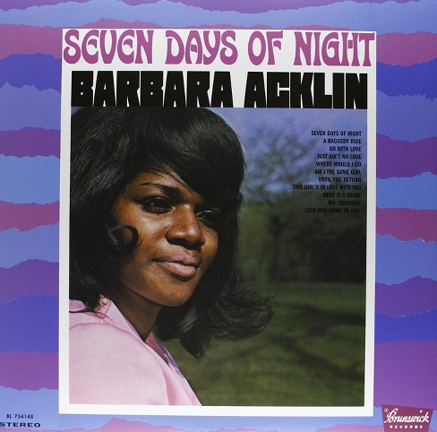 Barbara acklin - Seven days of night (Vinyl) - image 1 of 1