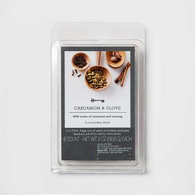 6ct Cardamom and Clove Scented Wax Melts - Threshold™