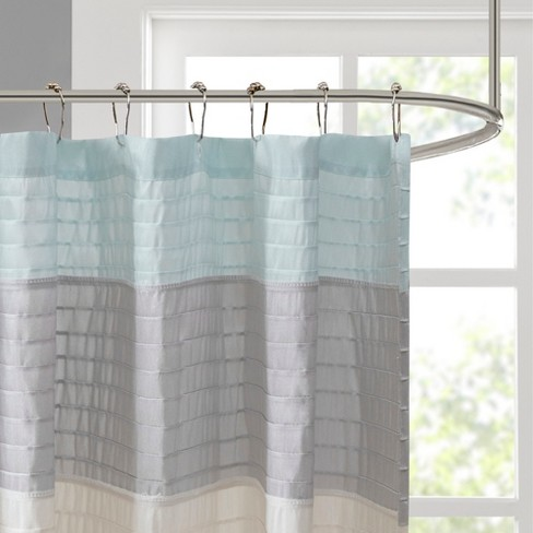 Salem Faux Silk Shower Curtain