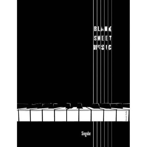 Blank Sheet Music - (Paperback) - image 1 of 1