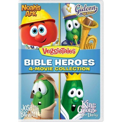 Veggie Tales: Bible Heroes 4-Movie Collection (DVD)(2018)