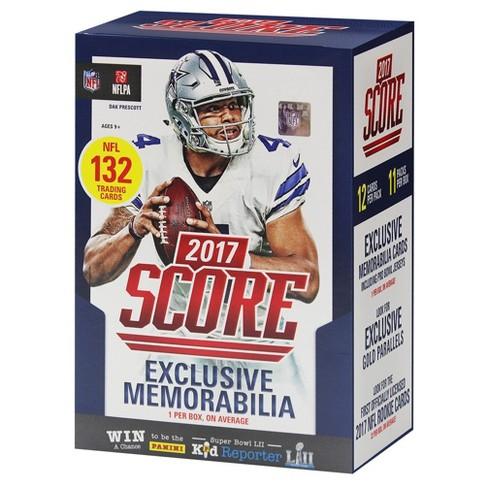 011bab81eba 2017 NFL Panini Score Trading Cards Full Box   Target