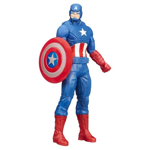 Marvel Captain America 6-in Basic Action Figure - image 1 of 2