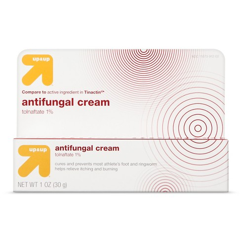 Tolnaftate Antifungal Cream - 1oz - Up&Up™ (Compare to active ingredient in Tinactin) - image 1 of 1